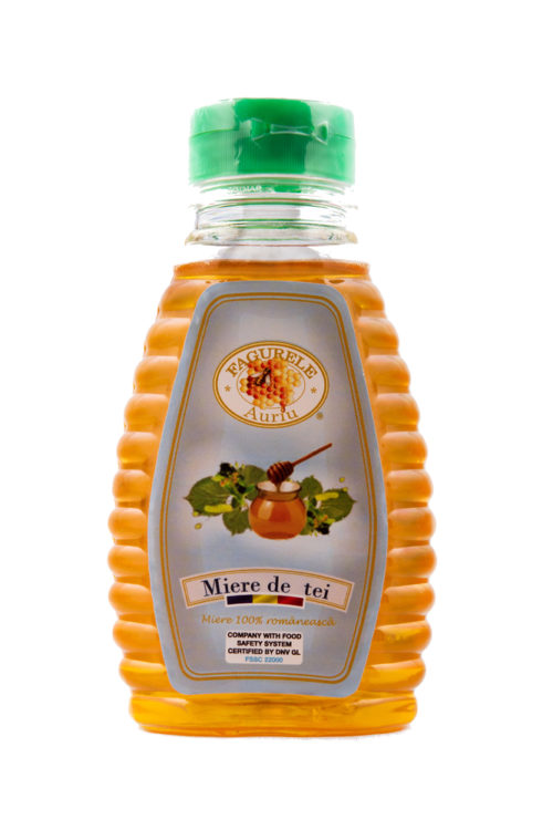 Miere tei Fagurele Auriu PET 400 g este foarte bogată în vitamine, mai ales cele din complexul B, aminoacizi, antixodanți, polen și mană.