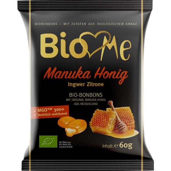 Bomboane cu miere de Manuka si ghimbir, 60g
