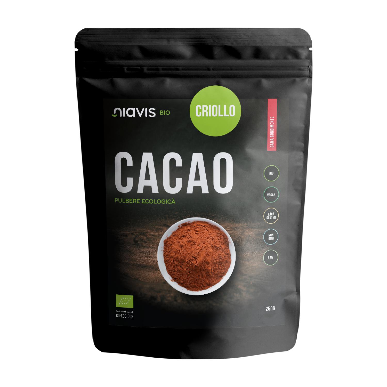 Cacao Criollo Pulbere Ecologica/Bio 250g