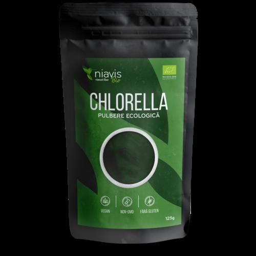 Chlorella Pulbere Ecologica/BIO 125g
