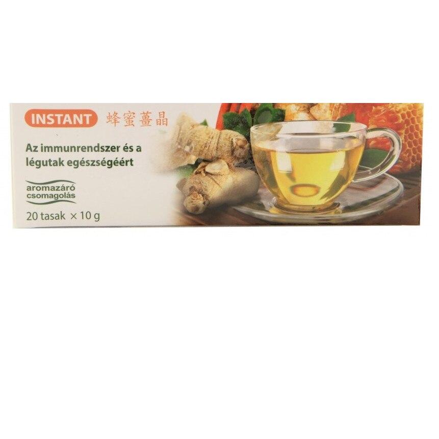 Ghimbir cu miere ceai instant 20 doze