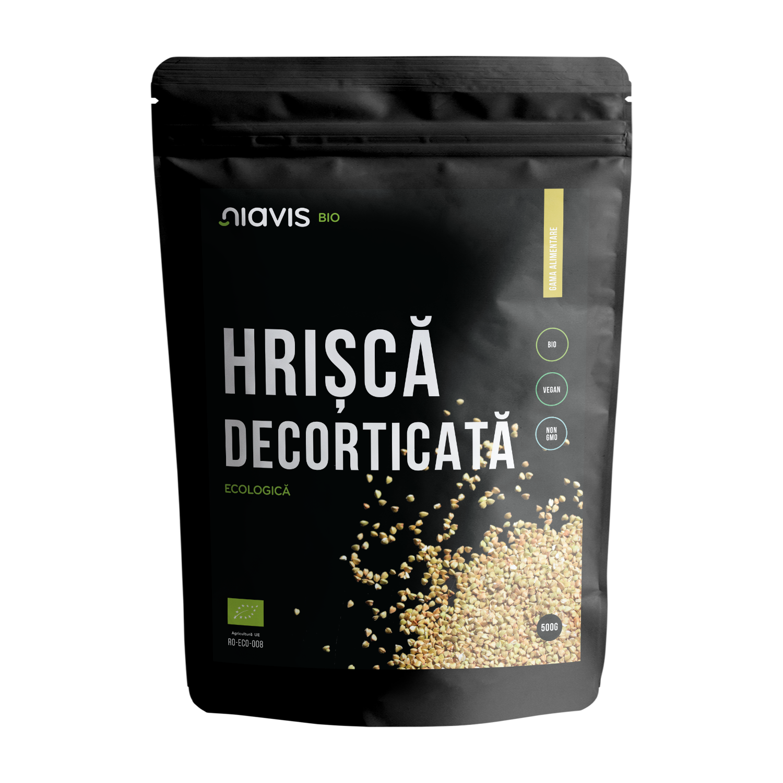 Hrisca Decorticata Ecologica/BIO 500g