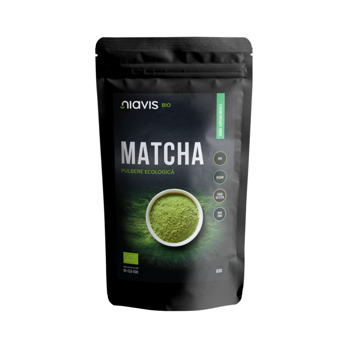 Matcha Pulbere Ecologica/BIO 60g