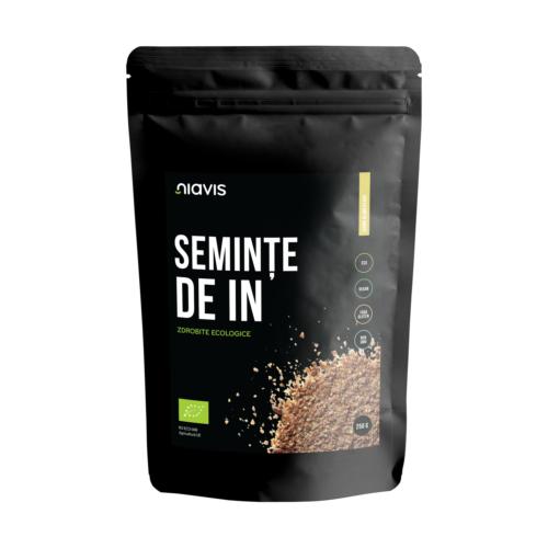 Seminte de IN zdrobite Ecologice/Bio 250g