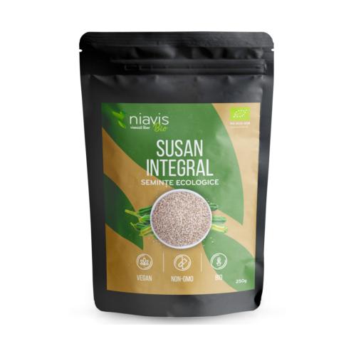 Seminte de Susan integral Ecologice/BIO 250g