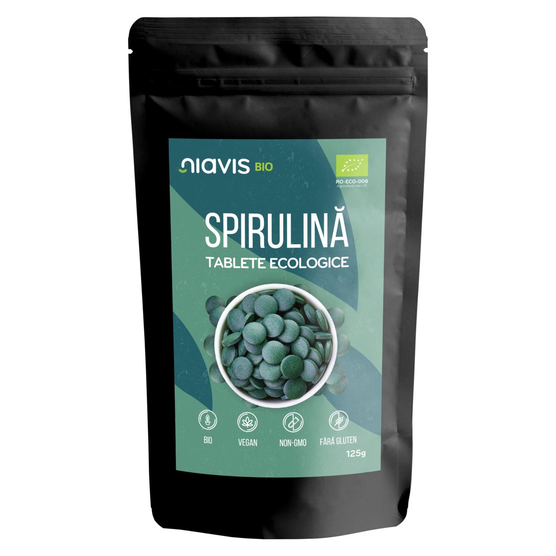 Spirulina Tablete Ecologice/BIO 125g