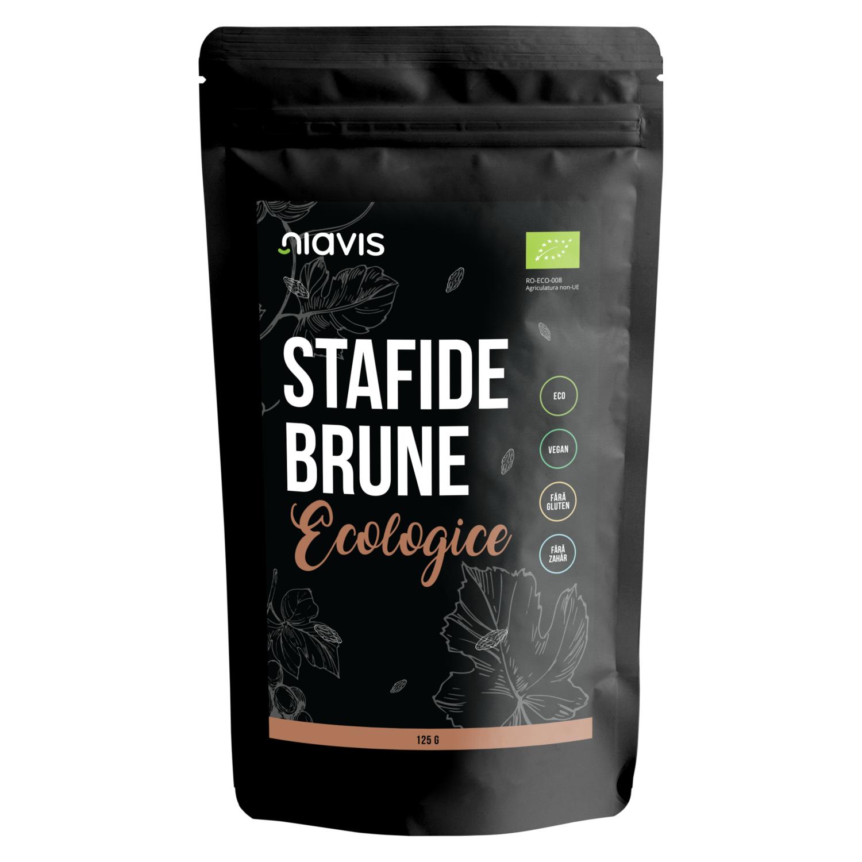 Stafide Brune Ecologice/BIO 125g