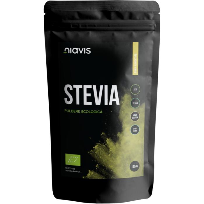 Stevia Pulbere Ecologica/BIO 125g