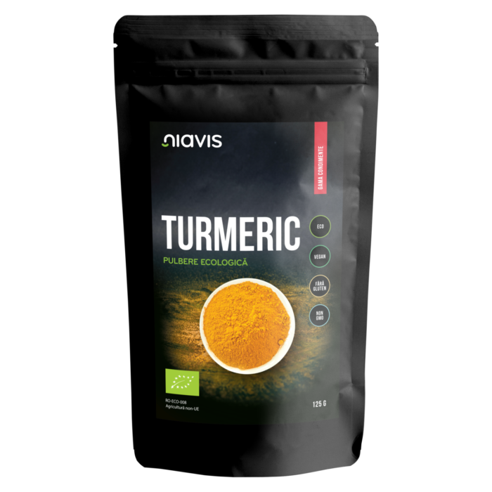 Turmeric Pulbere Ecologica/Bio 125g