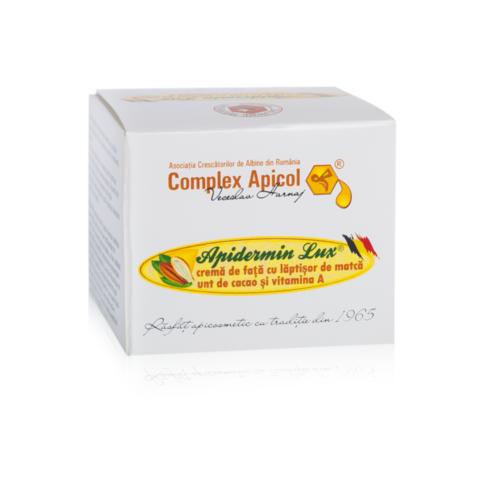 Apidermin Lux crema pentru fata 50 ml
