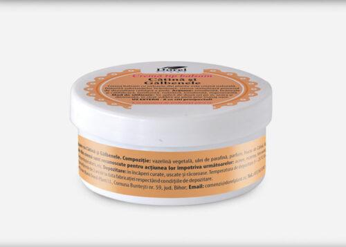 Crema-Balsam cu galbenele si catina 50g