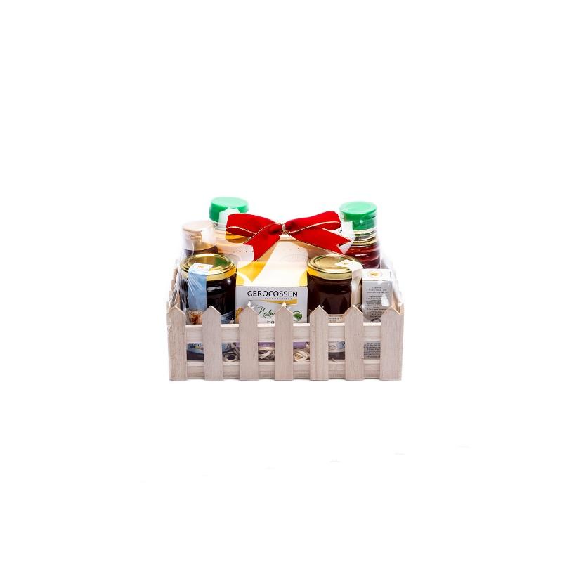 Cos gardulet mic cu produse Cosmetice Gerocossen & Apicole