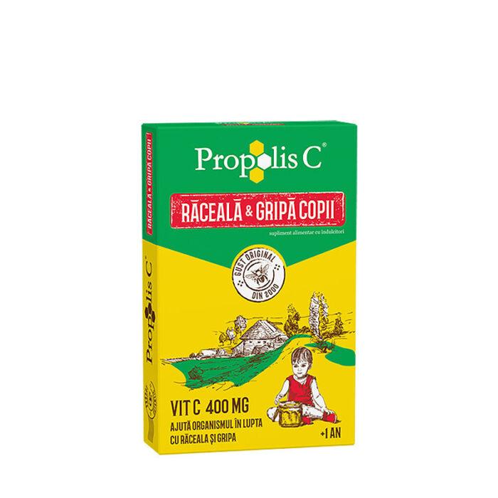 Propolis C Raceala si Gripa pentru copii 8 doze