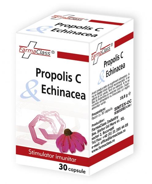 Propolis C cu echinaceea 30 capsule