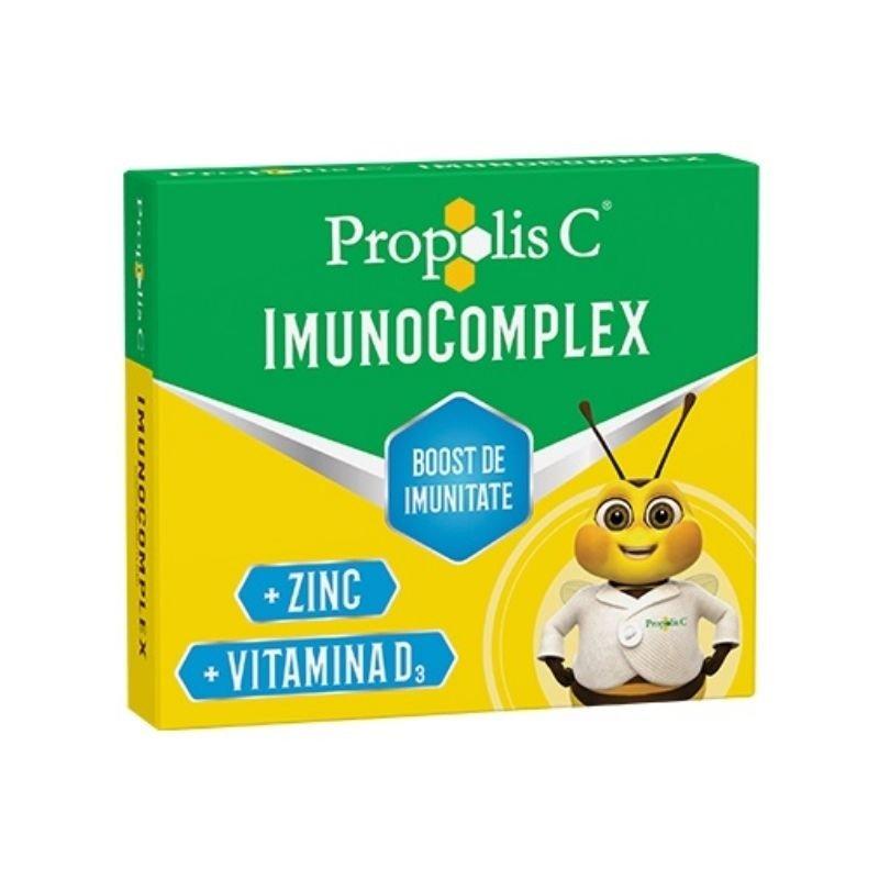 Propolis C imunocomplex 20 cpr masticabile