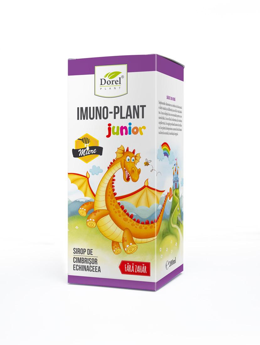 Sirop Imuno-Plant Junior cu miere 200ml